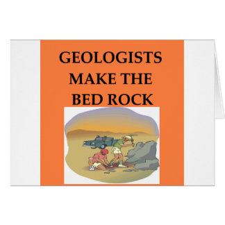 GEOLOGY geologist gifts Greeting Cards