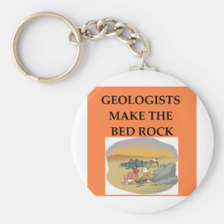GEOLOGY geologist gifts Keychains