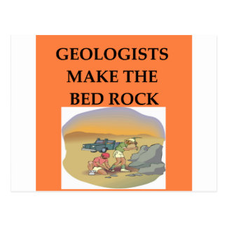 GEOLOGY geologist gifts Postcards