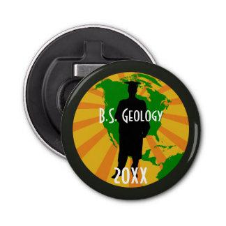 Geology Graduate Badge (Male) Bottle Opener