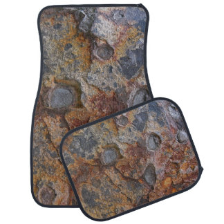 Geology Grungy Rock Texture Car Floor Mat