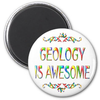 Geology is Awesome Magnets