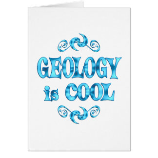 Geology is Cool Greeting Cards