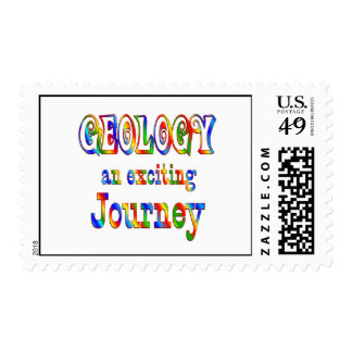 GEOLOGY is Exciting Stamp