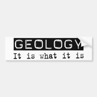 Geology It Is Bumper Sticker