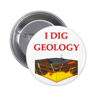 geology joke pinback button