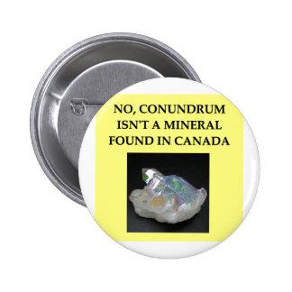 geology joke button