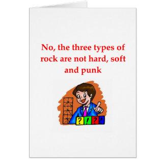 geology joke greeting cards
