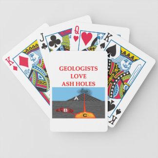 geology joke card decks