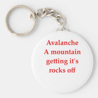 geology joke basic round button keychain