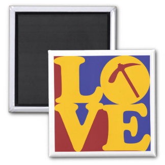 Geology Love Magnet