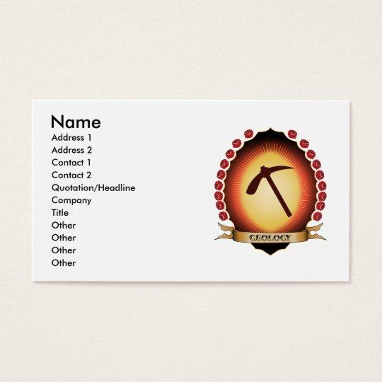 Geology Mandorla Business Card
