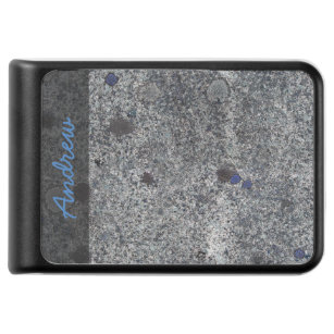 Geology Nature Granite Rock Blue Details any Text Power Bank