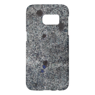 Geology Nature Granite Rock Blue Details Samsung Galaxy S7 Case