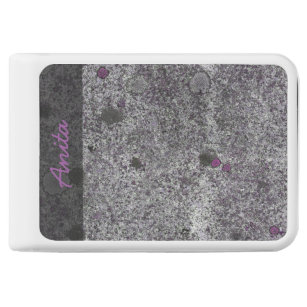 Geology Nature Granite Rock Pink Details any Text Power Bank