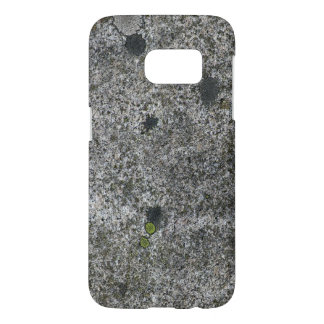 Geology Nature Granite Rock with Moss Samsung Galaxy S7 Case