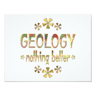 GEOLOGY Nothing Better Personalized Invites