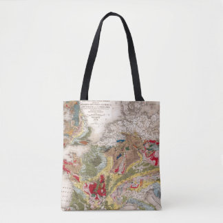 Geology of Europe Tote Bag