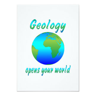 Geology Opens Worlds Personalized Invitations