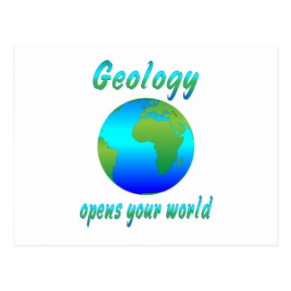 Geology Opens Worlds Postcards
