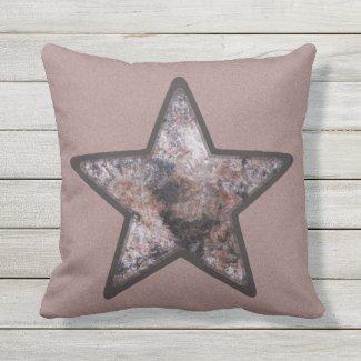 Geology Pink Rock Star on Custom Color