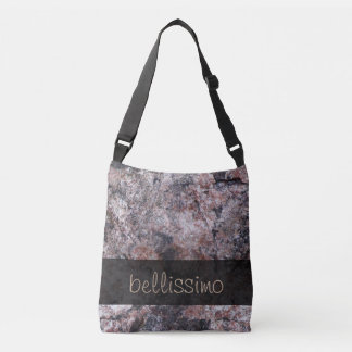 Geology Pinkish Rock Texture any Text Tote Bag