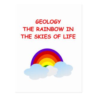 geology postcard