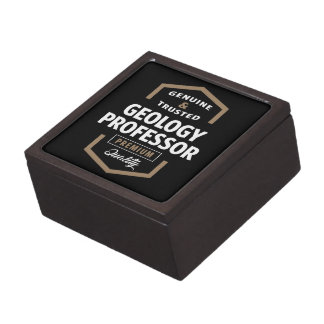 Geology Professor | Gift Ideas Keepsake Box