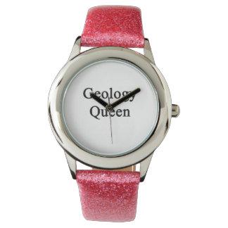 Geology Queen Wrist Watch