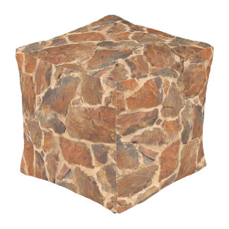 Geology Rock Stone Wall Structure Outdoor Pouf