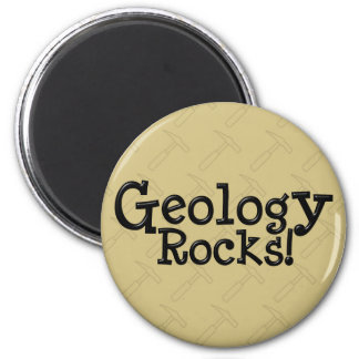 Geology Rocks! 2 Inch Round Magnet