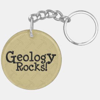 Geology Rocks Acrylic Key Chain Keychain