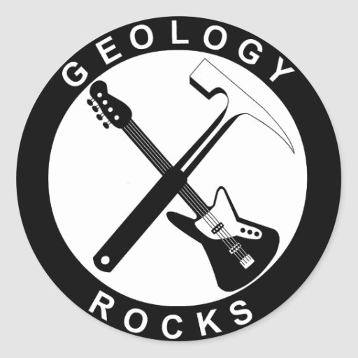Geology Rocks Adhesive Stickers