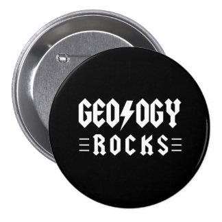 Geology Rocks 3 Inch Round Button