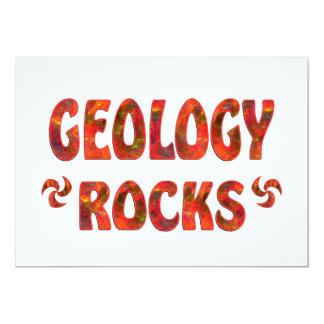 GEOLOGY ROCKS CUSTOM INVITATION