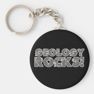 Geology Rocks Keychain