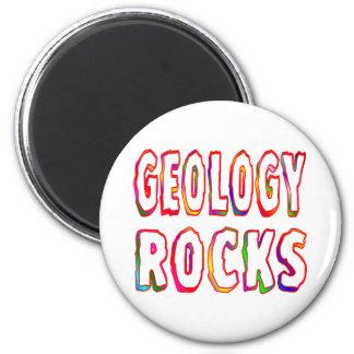Geology Rocks Refrigerator Magnet