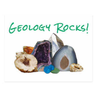 Geology Rocks! Postcard
