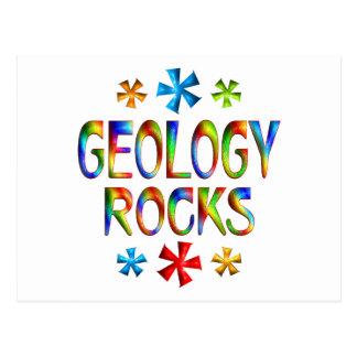 GEOLOGY ROCKS POSTCARDS