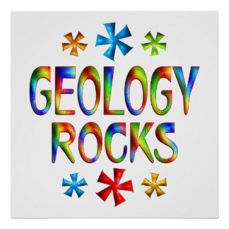 GEOLOGY ROCKS POSTERS