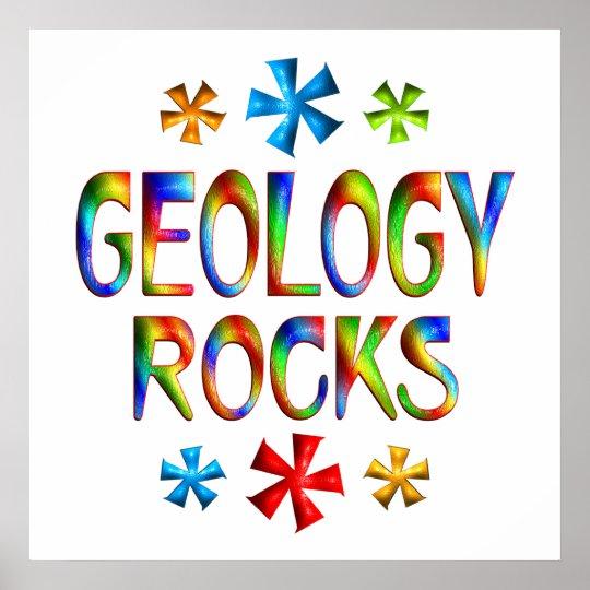 GEOLOGY ROCKS POSTER
