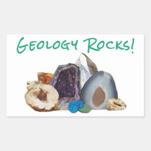 Geology Rocks! Stickers