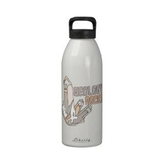 Geology Rocks Reusable Water Bottle