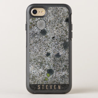 Geology Rough Granite Rock Texture Name OtterBox Symmetry iPhone 7 Case
