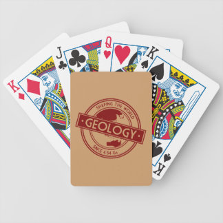 Geology- Shaping the World Logo (Asia/Australia) Bicycle Playing Cards