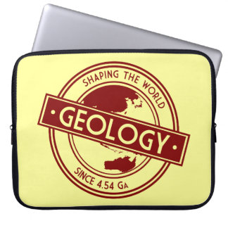 Geology- Shaping the World Logo (Asia/Australia) Laptop Sleeve