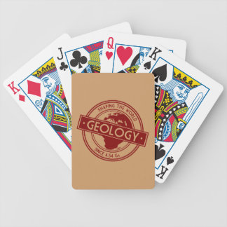 Geology- Shaping the World Logo (Europe) Bicycle Playing Cards