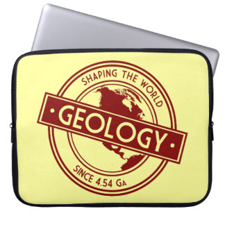 Geology- Shaping the World Logo (North America) Laptop Sleeve