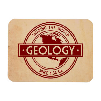 Geology- Shaping the World Logo (North America) Magnet