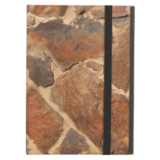 Geology Stonewall Pattern Warm Golden iPad Air Case